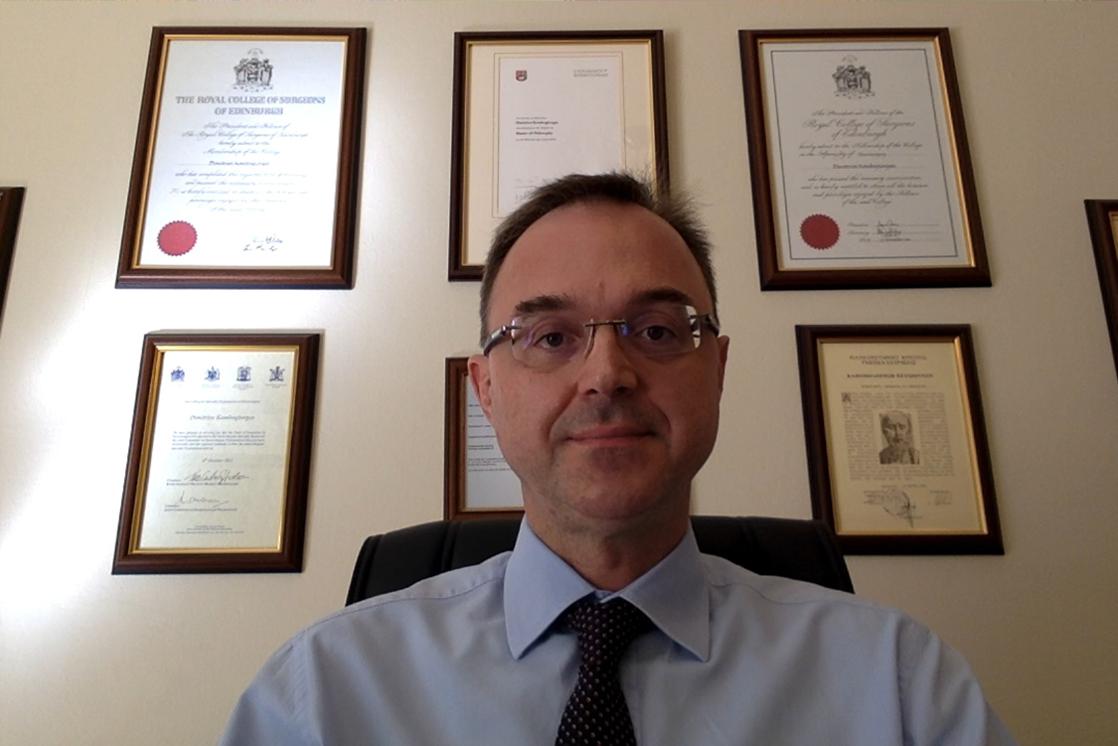 Dimitris Kombogiorgas, Consultant Neurosurgeon